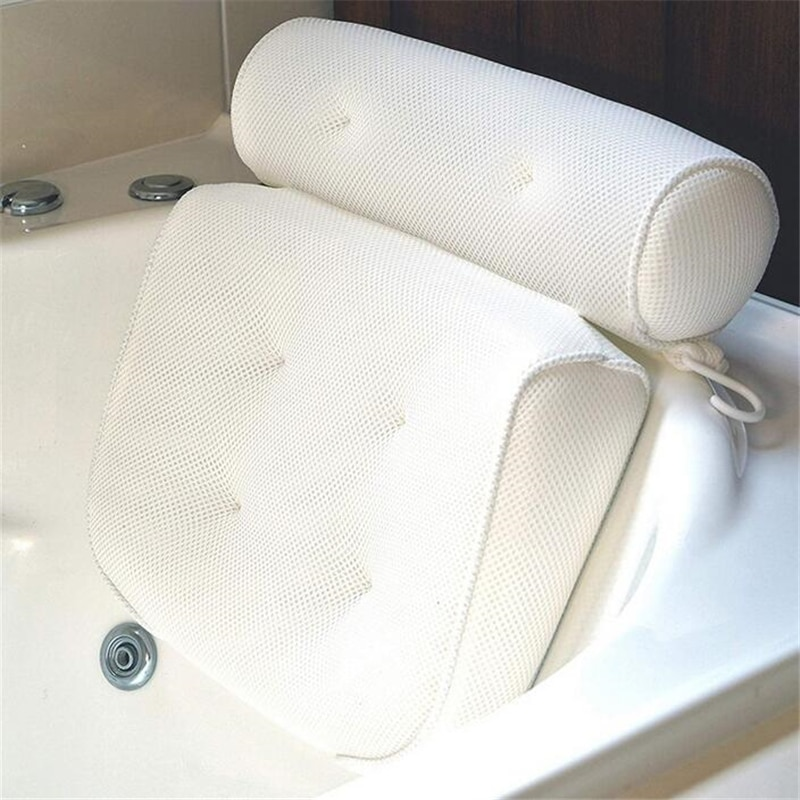 Bath Headrest Pillows with Suction Cups