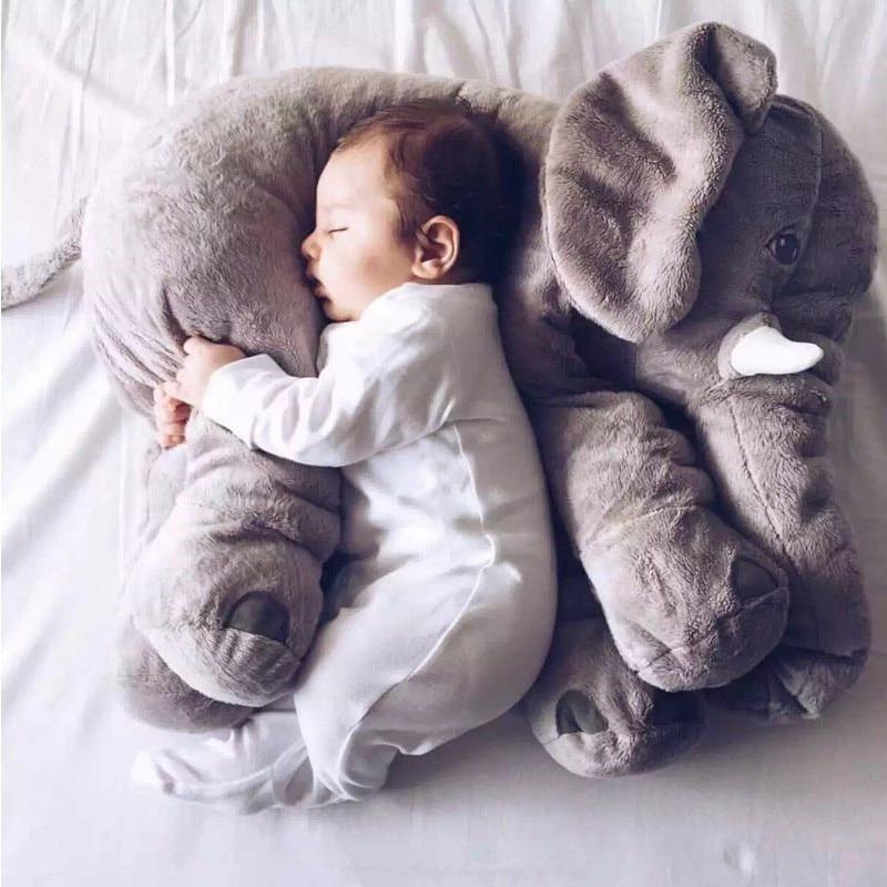 Elephant Shaped Soft Plush Pillows