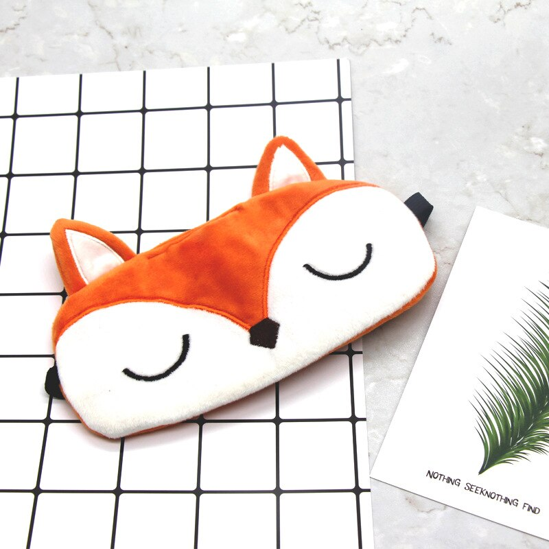Lovely Fox Shaped Plush Travel Pillows