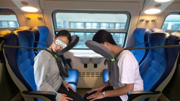 Folding Neck Support Travel Pillows
